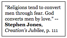 stephen jones fear quote